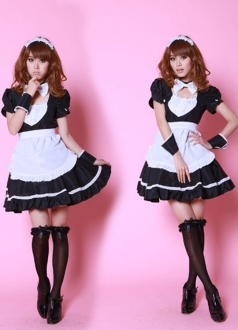 Black Girl Sweet Maid Costume