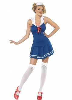 Cute Sailor Girl Outfit Halloween Costume