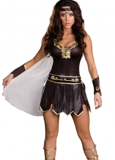 Halloween Classical Goddess Of War Costume