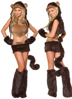 Womens Monkey Halloween Costume
