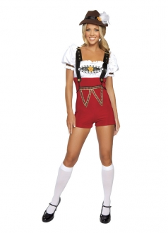 Cute German Beer Girl Stein Babe Costume