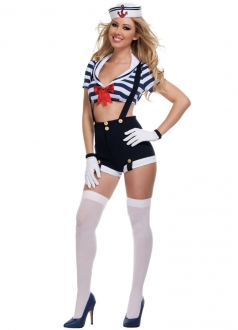 Womens Sailor Girl Halloween Costume