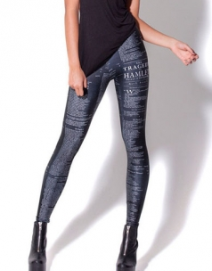 Fashion Tragedy Hamlet Print Leggings