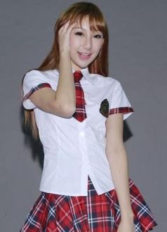 Sweet School Girl Red Cosplay Uniform Costume