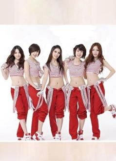 Womens Sweet Kara Mister Kpop School Girl Costume