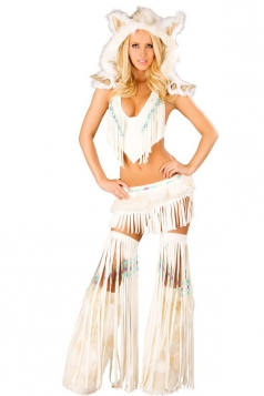 Sexy Midriff Baring Indian Halloween Costume