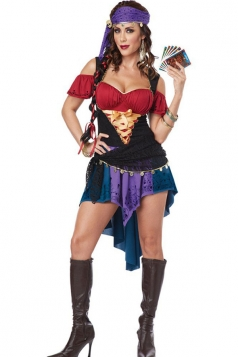Exotic Ladies Gypsy Halloween Costume
