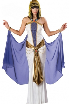 White Fancy Ladies Egyptian Halloween Costume