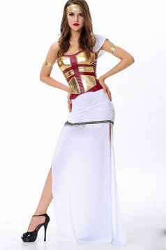 White Sexy Ladies Greek Goddess Halloween Costume