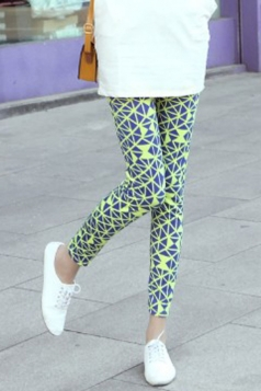 Fancy Ladies All-Match Tight Printed Leggings