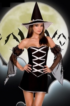Awesome Witch Halloween Costume for Womens