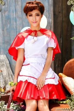Little Red Riding Hood Halloween Fairytale Costume