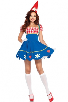 Deluxe Queen of Hearts Halloween Fairytale Costume