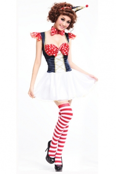 Low-cut Dress Sexy maid Lingerie Theme Halloween Costume