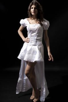 White Elegant Princess Womens Halloween Queen Costume