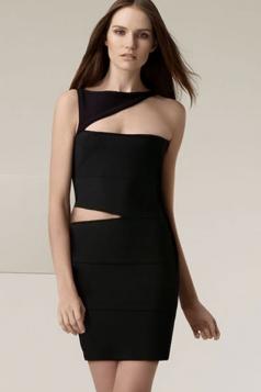 Sexy One-shoulder Women's Bandage Dress