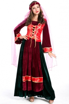 Ruby Ladies Medieval Royal Fancy Halloween Costume