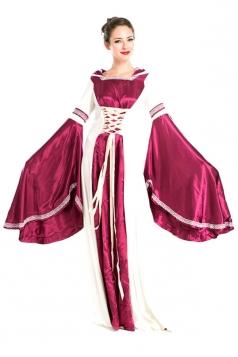 Ruby Fancy Ladies Halloween Royal Medieval Costume