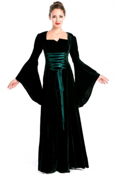 Green Halloween Royal Renaissance Womens Costume