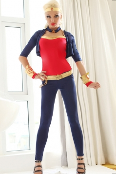 Super Womens Halloween Superhero Costume