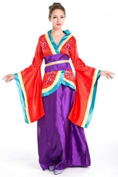 Sexy Halloween Renaissance Kimono Queen Costume