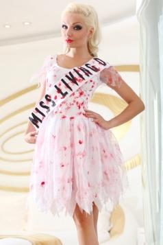 Miss Living Blood Halloween Vampire Costume