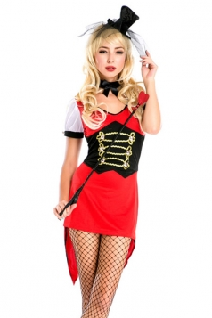 Sexy Ladies Magician Halloween Circus Costume
