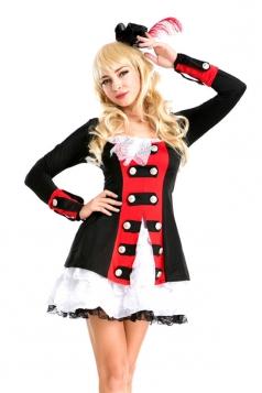 Elegant Halloween Womens Circus Costume