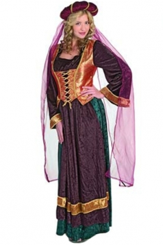 Medieval Womens Arabian Dancer Halloween Folk Costume