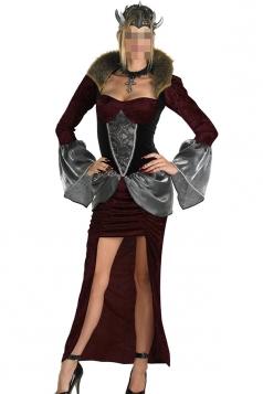Ruby Fashion Ladies Halloween Queen Vampire Costume