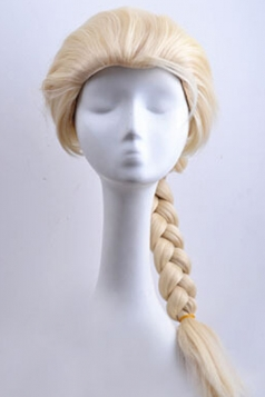 Gold Frozen Elsa Chic Womens Cute Wig
