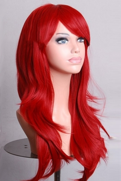 Ruby Fashion Cosplay Ladies Sexy Long Waves Hair Wig