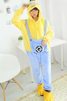Cute Womens Halloween Despicable Me Minion Cartoon Costume