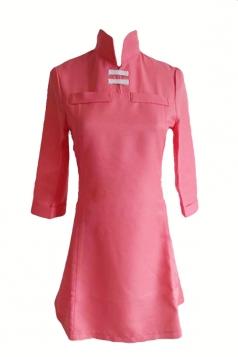 Pink Halloween Soredemo Sekai Wa Utsukushii Dress Cartoon Costume