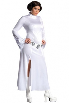 Womens Star Wars Princess Leia Cosplay Costume