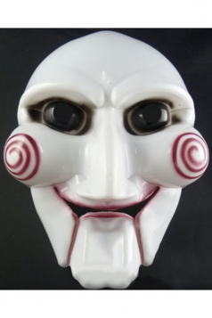 White Horror Mask Chainsaw Massacre Party Halloween Mask