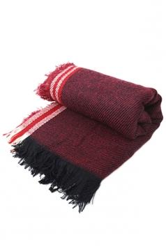 Ruby Trendy Ladies Fringe Shawl Warm Winter Strip Scarf