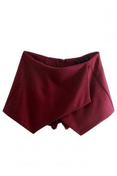 Ruby Ladies Irregularly Tweed Thick Vintage Mini Shorts