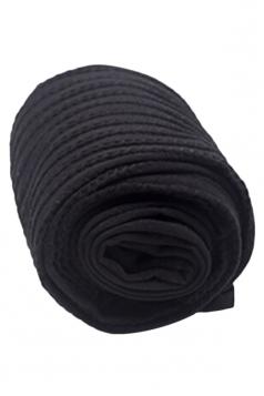 Black Sexy Ladies Velvet Vertical Stripes Tights