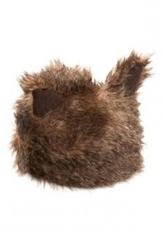 Coffee Womens Cute Faux Fur Cat Ear Hat
