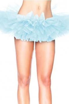 Blue Sexy Ladies Petticoat Tutu