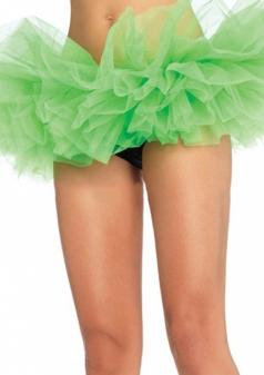 Green Sexy Ladies Petticoat Tutu