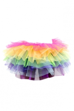 Yellow Sexy Ladies Petticoat Tutu