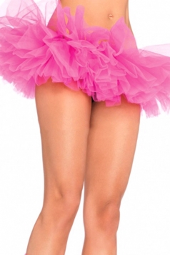 Rose Red Sexy Ladies Petticoat Tutu