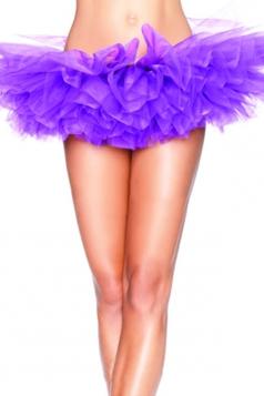 Purple Sexy Ladies Petticoat Tutu
