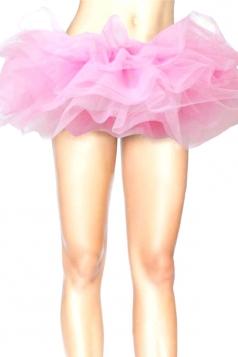 Pink Sexy Ladies Petticoat Tutu