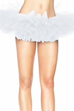 White Sexy Ladies Petticoat Tutu