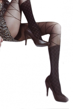 Black Sexy Womens Fake Boots Design Tights