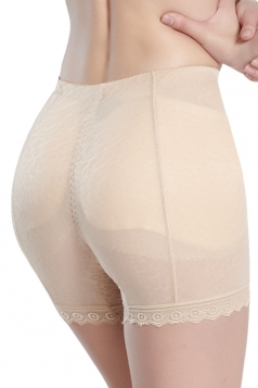 Beige White Bamboo Carbon Fiber See Through Sexy Chic Womens Panty