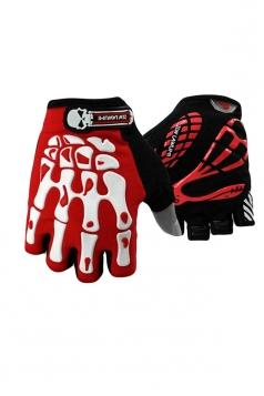 Red Mitten Children Mountain  Bike Gloves
